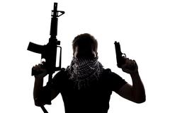 Terrorist or Special Operations Soldier Stock Photos