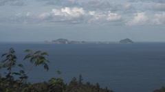 Islands, New Zealand - Coromandel Peninsula Stock Footage