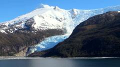 Glacier Alley - Patagonia Argentina Stock Footage