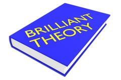 Brilliant Theory concept Stock Illustration