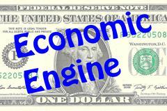 Economic Engine business concept Stock Illustration