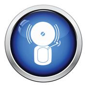 Fire alarm icon Stock Illustration