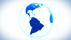 Global communications. - stock footage