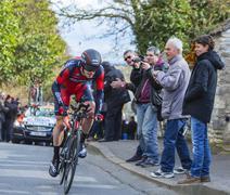 Conflans-Sainte-Honorine,France-March 6,2016: The Cyclist Ben Hermans Stock Photos