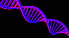 dna abstract logo - stock footage