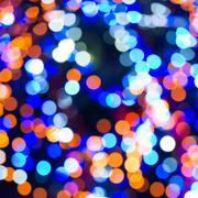 Holiday abstract lights Stock Photos