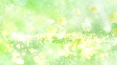 Wedding Motion Loopable Background 062, Running bubbles on Light Green BG - stock footage