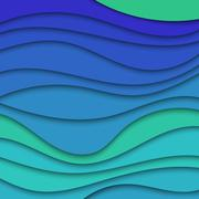 Colorful abstract waves texture background for text and message website desig - stock illustration