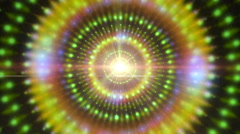 A graphic pulsar star radiating light - Pulsar 013 HD, 4K Stock Video - stock footage