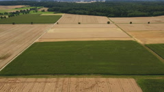 Agriculture, aerial view Stock Footage