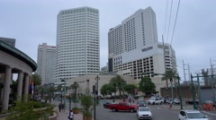 The Westin Hotel in New Orleans Stock Footage