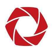 Shutter icon. Camera design. Vector graphic Stock Illustration