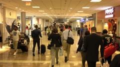Gates at Atlanta Airport Stock Footage