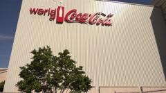 World of Coca Cola at Pemberton Place Atlanta Stock Footage
