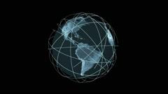 Growing Global Network Stock Footage