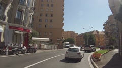 Principality of Monaco Stock Footage