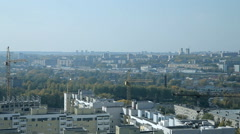 An ordinary Russian city in the summer Stock Footage