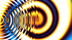 WAVE VARIATIONS 12A,Abstract video background. Stock Footage