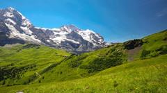 Mannlichen, Switzerland Stock Footage