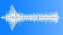 Male low sharp whirr Sound Effect