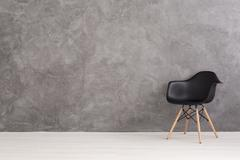 Good visibility of design chair - stock photo