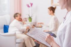 VIP clinic of the highest standards - stock photo