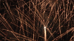 4K Firework Explosions Close Up Stock Footage