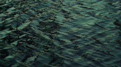 Water Ripples Slow Motion Stock Footage