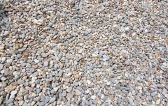 Gravel stone background - stock photo