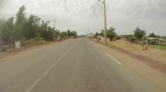 Ouélessébougou, south-western Mali. Camera car. N. Stock Footage