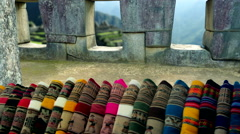 Machu Picchu - Carpets and Terraces Stock Footage