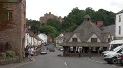 Dunster Village Stock Footage