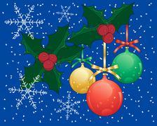 seasonal background - stock illustration