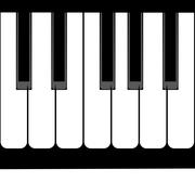 Piano Keyboard Illustration Stock Illustration