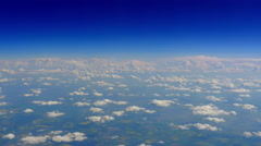 4K Clouds Aerial, Blue Sky Horizon Background Stock Footage