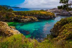 Point Lobos State Park California Stock Photos