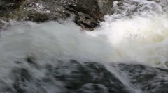 Khao Cha Mao Waterfall in Rayong Thailand Stock Footage