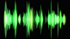 Signal. Waveform sound - stock footage