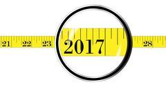 Tape Measure 2017 Stock Illustration