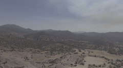 Vasquez Rocks Clear Day Stock Footage