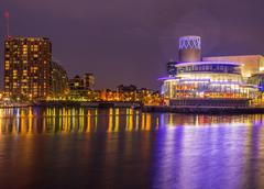 Salford Quays, Salford, Manchester, Gtr Manchster, UK. August 1st 2016. Build - stock photo