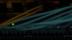 Cable Connections In A Server Room, Lights Flickering, Internet Connections, IT Stock Footage