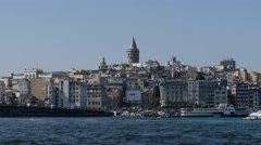Golden Horn Bay. Istanbul - stock footage