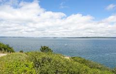 crozon peninsula in Brittany - stock photo