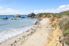 Crozon peninsula in Brittany Stock Photos