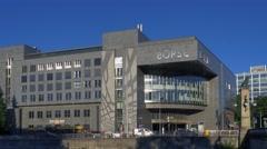 Stockmarket Zurich, Switzerland, Europe Stock Footage