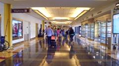 Ronald Reagan Washington National Airport Stock Footage
