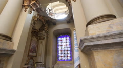 Amazing church in Lviv close up Stock Footage