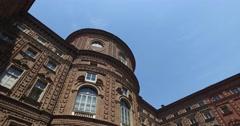 Palazzo Carignano, Turin, Italy Stock Footage