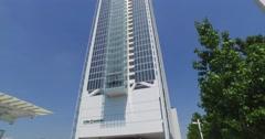 Torre Intesa Sanpaolo, Turin, Italy - stock footage